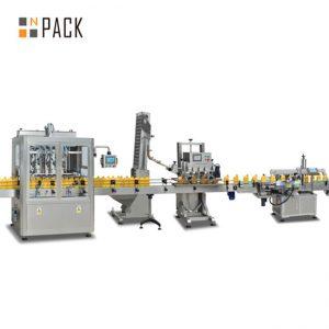 машина для наповнення варення з поршнем, автоматична машина для розливу гарячого соусу, лінія з виробництва соусу чилі