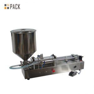 Дуже популярна машина для наповнення морозивом / машина для наповнення подвійними головками / машина для наповнення лаку для нігтів