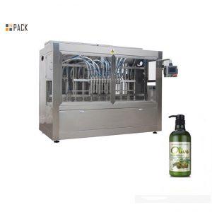 Повна автоматична машина для наповнення шампуню для ручного купання в пляшках